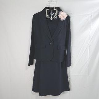 シューラルー(SHOO・LA・RUE)のおまけ有り♥️SHOO-LA-RUE ワンピーススーツ M ネイビー ママ(スーツ)