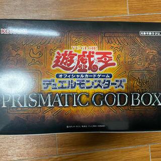 ユウギオウ(遊戯王)の遊戯王 プリズマティックゴットボックス 未開封(Box/デッキ/パック)