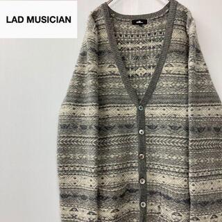 LAD MUSICIAN - LAD MUSICIANラッドミュージシャンノルディックニットカーディガン