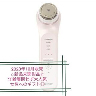 シャープ(SHARP)の【新品未開封品】プレゼント シャープ 美顔器  ピンク IB-LF7-P(フェイスケア/美顔器)