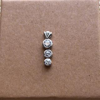 セイコー(SEIKO)のSEIKO ダイヤモンド0.31ct プラチナ ヘッド(ネックレス)