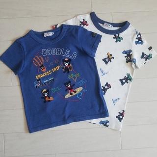 ダブルビー(DOUBLE.B)の3点おまとめ ミキハウス ダブルビー Tシャツ セット 100 110(Tシャツ/カットソー)