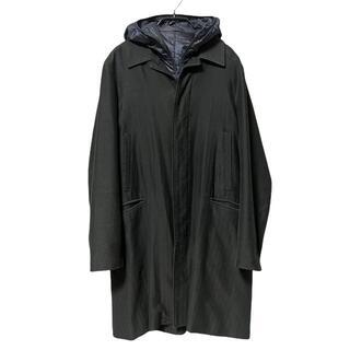 アンダーカバー(UNDERCOVER)のR301-14) undercover ダウンフード ステンカラーコート(ステンカラーコート)