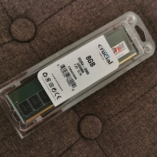 メモリ Crucial PC4-21300(DDR4-2666) 8GB (PCパーツ)