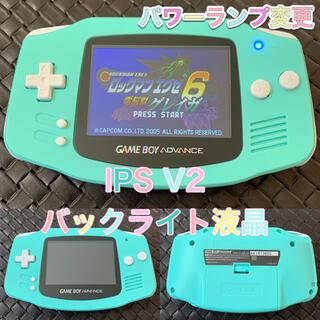ゲームボーイアドバンス(ゲームボーイアドバンス)のゲームボーイアドバンス バックライト液晶 IPS V2 GBA(携帯用ゲーム機本体)