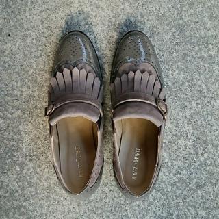 バークレー(BARCLAY)の値下げしました!バークレー フリンジ付きウイングチップ(ローファー/革靴)