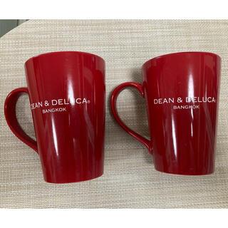 ディーンアンドデルーカ(DEAN & DELUCA)のDEAN&DELUCAバンコク限定マグカップ2個(食器)