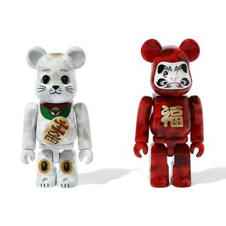 アベイシングエイプ(A BATHING APE)のNEW YEAR BE@RBRICK MANEKINEKO & DARUMA(その他)