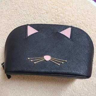 ケイトスペードニューヨーク(kate spade new york)のケイトスペード 黒猫ポーチ(ポーチ)