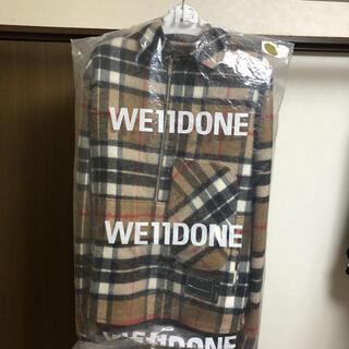 PEACEMINUSONE - we11done ハーフジップウールジャケット 美品