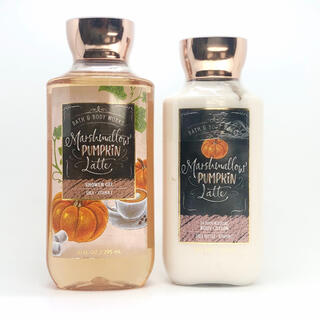 Bath & Body Works - BBW Marshmallow Pumpkin Latte 2点セット