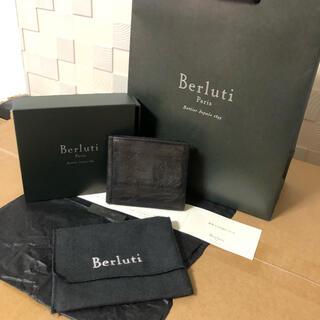 ベルルッティ(Berluti)のBERLUTI  ベルルッティ マネークリップ ASSAO 二つ折り財布 (マネークリップ)