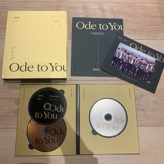 セブンティーン(SEVENTEEN)のSEVENTEEN ode to you Blu-ray 日本仕様(韓国/アジア映画)
