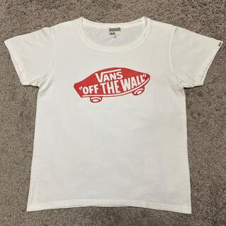 ヴァンズ(VANS)のVANS  ヴァンズ バンズ Tシャツ 白T(Tシャツ(半袖/袖なし))