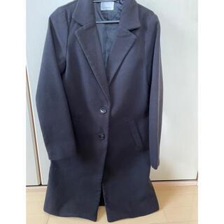 エゴイスト(EGOIST)の新品 EGOIST エゴイスト ロングコート ブラック コート 冬 黒(ロングコート)
