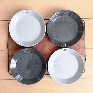 イッタラ(iittala)のイッタラ ティーマ プレート 17cm 4点セット 新品 未使用(食器)