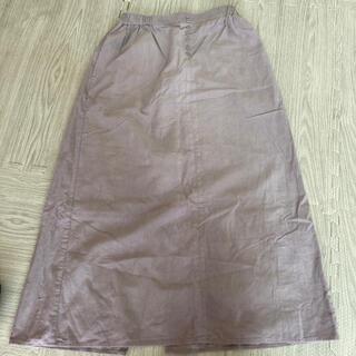 イーハイフンワールドギャラリー(E hyphen world gallery)のイーハイフン 新品コーデュロイスカート(ロングスカート)