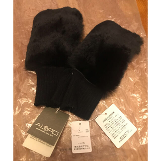 UNITED ARROWS - 指出しラビットファー手袋 新品