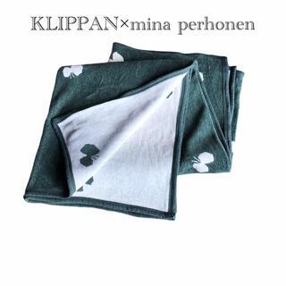 クリッパン(KLIPPAN)のKLIPPAN×mina perhonen コットンブランケット シングル(毛布)