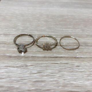 アネモネ(Ane Mone)のアネモネ  リングセット(リング(指輪))