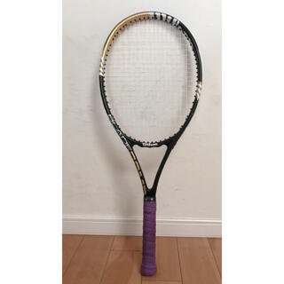 ウィルソン(wilson)の中古 Wilson硬式テニスラケット G1  グリップテープ1本オマケ!(ラケット)