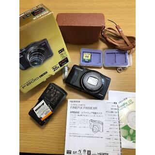 デジカメ 富士フイルム FINEPIX(SDカード、ケース付き)(コンパクトデジタルカメラ)