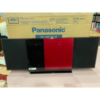 Panasonic - Panasonic コンパクトステレオ SC-HC38-R