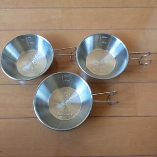 ユニフレーム(UNIFLAME)のユニフレーム ダッチ3兄弟 シェラカップ 3個セット(食器)