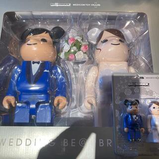 メディコムトイ(MEDICOM TOY)の400% 100% グリーティング 結婚 BE@BRICK PLUS 4(その他)