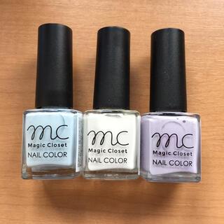 スリーコインズ(3COINS)のmc magic closet nail color(マニキュア)
