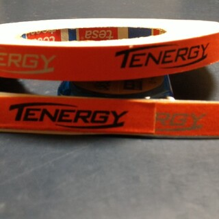 バタフライ(BUTTERFLY)の12mm1mテナジーバタフライ卓球サイドテープ(卓球)
