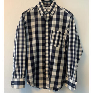 ブラックフリース(BLACK FLEECE)の【美品】BLACK FLEECE ブラックフリース ビッグギンガムチェックシャツ(シャツ)