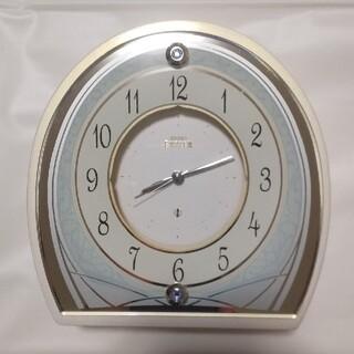 セイコー(SEIKO)の置時計 SEIKO EMBLEM HR581W(置時計)