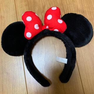 ディズニー(Disney)のディズニーランド ミニーちゃん 耳(キャラクターグッズ)