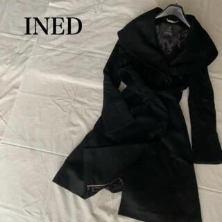 イネド(INED)の極美品 イネド ロング コート 【エムプルミエ、アナイ好きに(ロングコート)