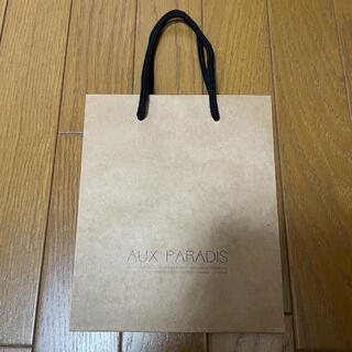 AUX PARADIS オゥパラディ 紙袋 ショップ袋