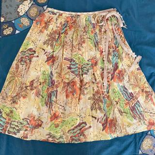 ロイスクレヨン(Lois CRAYON)のお値下げ ロイスクレヨン 膝丈スカート(ひざ丈スカート)