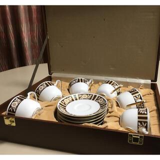 オオクラトウエン(大倉陶園)の大倉陶園オリジナル コーヒーカップ  6客セット(グラス/カップ)