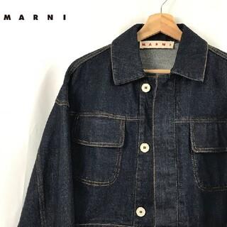 マルニ(Marni)のMARNI マルニ デニムジャケット ショート丈(Gジャン/デニムジャケット)