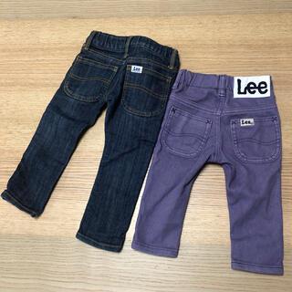 リー(Lee)のlee デニムパンツ2本セット サイズ80(パンツ)