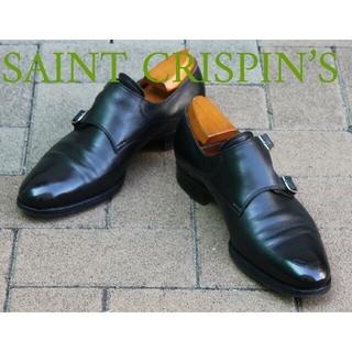 ジョンロブ(JOHN LOBB)の超貴重!聖靴サンクリスピンMOD.505UK7F1/2ダブルモンク最高の既製靴を(ドレス/ビジネス)