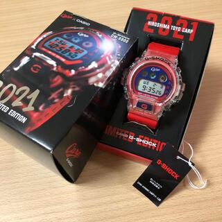 ヒロシマトウヨウカープ(広島東洋カープ)の広島carp G-SHOCK 2021年モデル カープ(腕時計(デジタル))