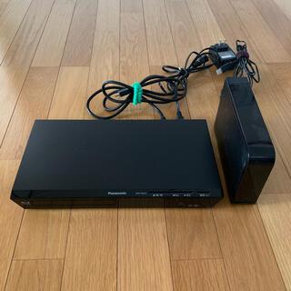 パナソニック(Panasonic)のPanasonic DVDプレイヤー・録画用HDD(別売り可能)(DVDプレーヤー)
