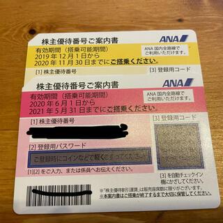 ANA 株主優待券 2枚(その他)