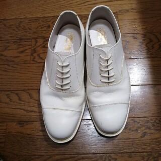 海上自衛隊 白短靴 26cm made in japan(その他)