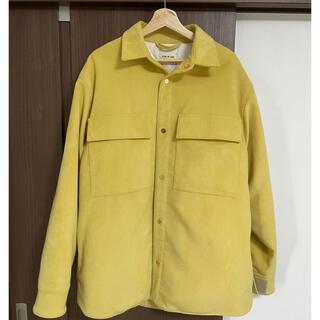 フィアオブゴッド(FEAR OF GOD)の【美品】FEAR OF GOD Suede Shirt Jacket Lサイズ(その他)