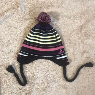 アディダス(adidas)のadidas ニット帽(ニット帽/ビーニー)
