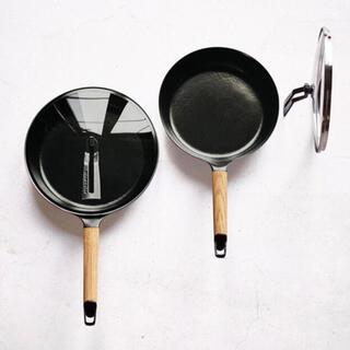 バーミキュラ(Vermicular)の【蓋セット】オーク 24cm Vermicular バーミキュラ フライパン(鍋/フライパン)