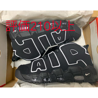 ナイキ(NIKE)のNIKE AIR MORE UPTEMPO BLACK/WHITE (2020)(スニーカー)