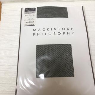 マッキントッシュフィロソフィー(MACKINTOSH PHILOSOPHY)のMACKINTOSH PHILOSOPHY⭐️タイツストッキング⭐️ヘリンボーン(タイツ/ストッキング)